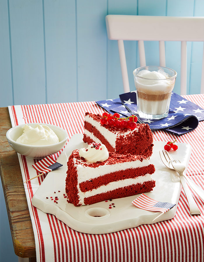 American Favorites, Red Velvet Cake for MigrosMagazin