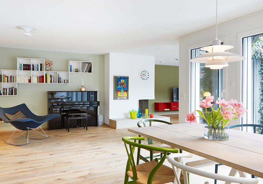 wohnreportage switzerland danish interior