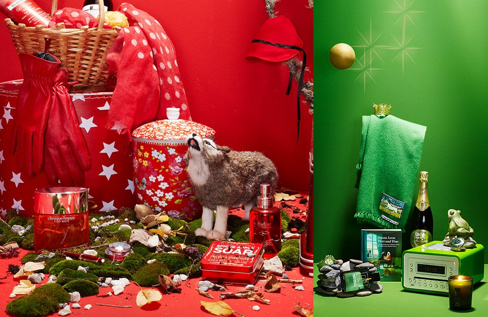 fairy tale, frog king, little red riding hood , products for Blick Magazin